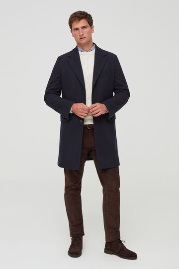 OVS PIOMBO Cappotto con revers slim fit